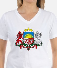 Latvia Coat of Arms Shirt
