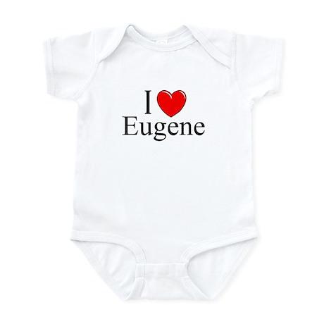 """""""I Love Eugene"""" Infant Bodysuit"""