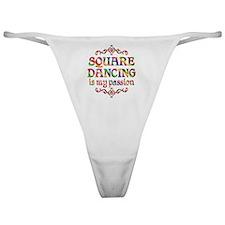 Square Dancing Classic Thong
