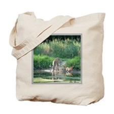 Buck & Fairy Reflection Tote Bag