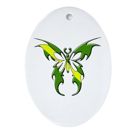 Nitrox: Butterfly Oval Ornament