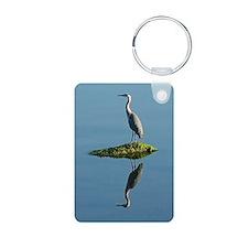 Heron Reflection Keychains