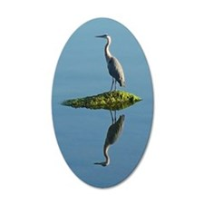 Heron Reflection Wall Decal