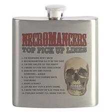 Necromancer Pick Up Lines Flask