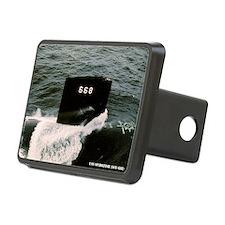 spadefish framed panel pri Hitch Cover