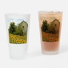 Sunflower Drinking Glass