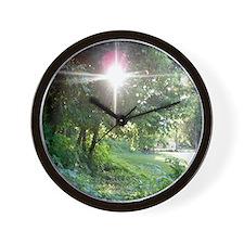 Sunbeam of Hope Wall Clock