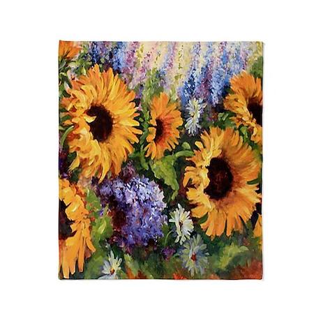 Sunflower Throw Blanket