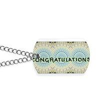 CongratsTtbm1 Dog Tags
