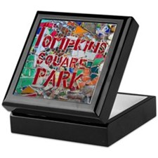 MosaicManNYC Tompkins Square Park Keepsake Box