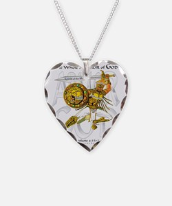 Whole Armor of God--Silver Necklace