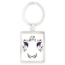 Eye of the Tiger - Purple Keychains