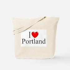 """I Love Portland"" Tote Bag"