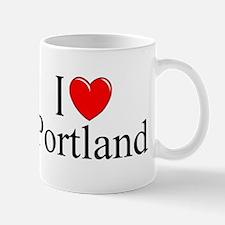 """""""I Love Portland"""" Mug"""