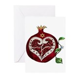 Pomegranate Greeting Cards (20 Pack)