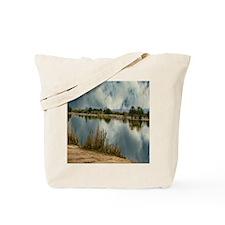 lake reflection Tote Bag