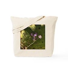 purple wildflowers Tote Bag