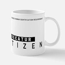 Decatur, Citizen Barcode, Mug