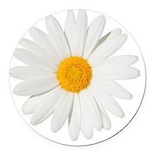 Daisy Round Car Magnet