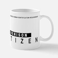 Denison, Citizen Barcode, Mug