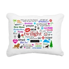 PillowC TwiMem Rectangular Canvas Pillow