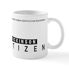 Dickinson, Citizen Barcode, Mug