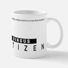 Dingus, Citizen Barcode, Mug