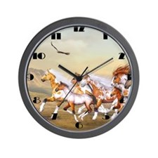 whh_modern_wall_clock_hell Wall Clock