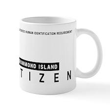 Drummond Island, Citizen Barcode, Mug