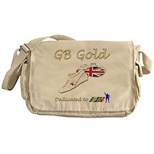 Great Britain Gold Messenger Bag