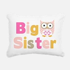 Big Sister Owl T Rectangular Canvas Pillow