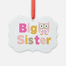 Big Sister Owl T Ornament
