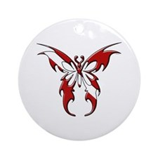Dive Flag:Butterfly Ornament (Round)