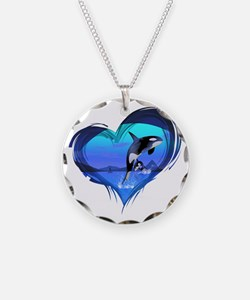 orka3_hell Necklace Circle Charm