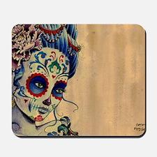 Marie de los Muertos Laptop Cover Mousepad
