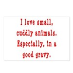 Cuddly Gravy Postcards (Package of 8)