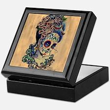 Marie Muertos Cushion cover Keepsake Box