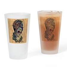 Marie Muertos Cushion cover Drinking Glass