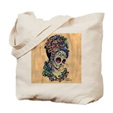 Marie Muertos Cushion cover Tote Bag