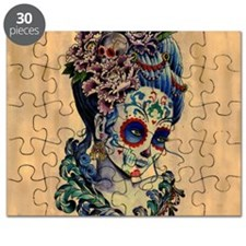 Marie Muertos Cushion cover Puzzle