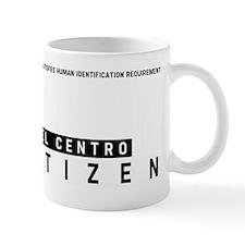 El Centro, Citizen Barcode, Mug