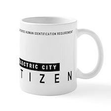 Electric City, Citizen Barcode, Mug