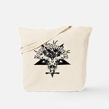 Satanic-Motherfucker-2-white-girlie Tote Bag