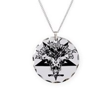 Satanic-Motherfucker-2-white Necklace