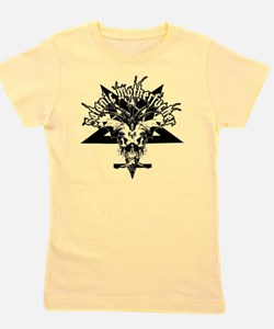 Satanic-Motherfucker-2-white-girls-TT Girl's Tee