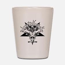 Satanic-Motherfucker-2-white-girls-TT Shot Glass