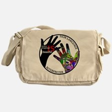 Communication is ART Messenger Bag