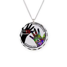 Communication is ART Necklace