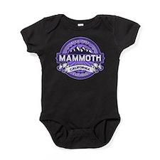 Mammoth Violet Baby Bodysuit