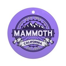 Mammoth Violet Ornament (Round)